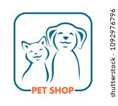 pet shop  icon. | Shutterstock . vector #1092976796