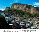 a landscape view  of a famous...   Shutterstock . vector #1092999959