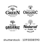 organic natural and healthy... | Shutterstock .eps vector #1093008590