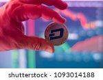 dash open source digital cash...   Shutterstock . vector #1093014188