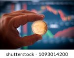 ripple xrp token cryptocurrency ... | Shutterstock . vector #1093014200