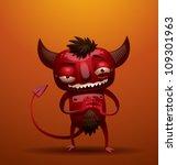 Little Red Devil  Vector 04