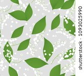 seamless pattern with vector... | Shutterstock .eps vector #1093025990
