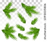 a large set of different green... | Shutterstock .eps vector #1093035806