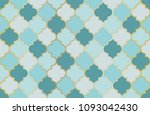 turkish mosque window vector... | Shutterstock .eps vector #1093042430
