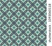 green geometric pattern in... | Shutterstock . vector #1093060118