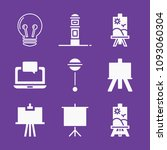 set of 9 tool filled icons such ... | Shutterstock .eps vector #1093060304
