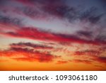 fiery  orange and red colors... | Shutterstock . vector #1093061180