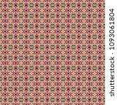 colorful geometric pattern in... | Shutterstock . vector #1093061804