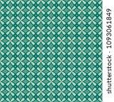 green geometric pattern in...   Shutterstock . vector #1093061849