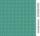green geometric pattern in...   Shutterstock . vector #1093061903