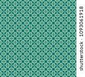 green geometric pattern in... | Shutterstock . vector #1093061918