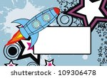 spaceship background copysapace ... | Shutterstock .eps vector #109306478