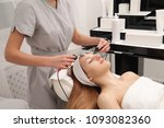 skin care procedures with a... | Shutterstock . vector #1093082360