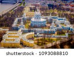 aerial view of the smolny... | Shutterstock . vector #1093088810