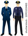 police man uniform graphic... | Shutterstock .eps vector #1093103483