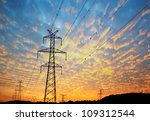 Electricity Pylons  Power Line...