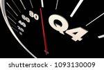 q4 fourth quarter budget...   Shutterstock . vector #1093130009