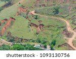 panoramic view of hill without...   Shutterstock . vector #1093130756
