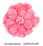 Artificial Pink Flower Isolate...