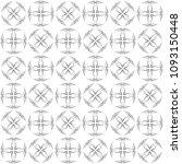 seamless abstract black texture ... | Shutterstock . vector #1093150448
