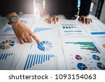 close up businessman consultant ... | Shutterstock . vector #1093154063