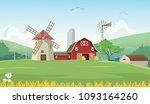 illustration of mountain... | Shutterstock . vector #1093164260