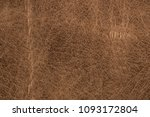 rough old brown leather... | Shutterstock . vector #1093172804