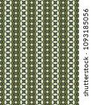 green geometric pattern in...   Shutterstock . vector #1093185056