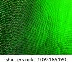 green mesh fabric texture.... | Shutterstock . vector #1093189190