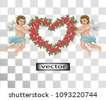Angels Vintage With Heart Of...