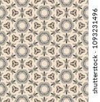 vector patchwork quilt pattern. ...   Shutterstock .eps vector #1093231496