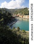 portofino  italy   april 5 ... | Shutterstock . vector #1093260938