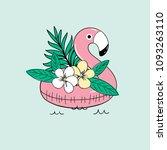 vector cute illustration of ... | Shutterstock .eps vector #1093263110