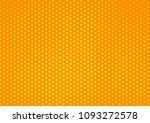 orange comic pop art halftone...   Shutterstock .eps vector #1093272578