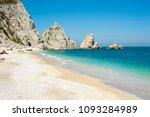 portonovo bay  adriatic coast ... | Shutterstock . vector #1093284989