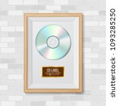 cd disc award vector. best... | Shutterstock .eps vector #1093285250