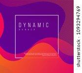 creative dynamic banner design... | Shutterstock .eps vector #1093294769