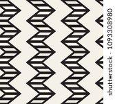 vector seamless zigzag line... | Shutterstock .eps vector #1093308980
