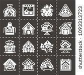 vector national gingerbread... | Shutterstock .eps vector #1093313723