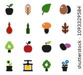solid vector icon set   oil... | Shutterstock .eps vector #1093329584