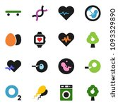 solid vector icon set   washer... | Shutterstock .eps vector #1093329890