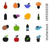 solid vector icon set   oil... | Shutterstock .eps vector #1093333238