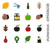 solid vector icon set   oil... | Shutterstock .eps vector #1093336238