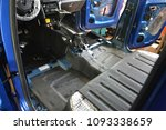 tuning the car in a pickup... | Shutterstock . vector #1093338659