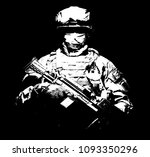united states armed forces... | Shutterstock . vector #1093350296
