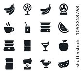 set of simple vector isolated... | Shutterstock .eps vector #1093358768