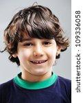 kid portrait | Shutterstock . vector #109336058