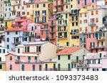 manarola  cinque terre  italy ...   Shutterstock . vector #1093373483