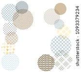 japanese pattern template.... | Shutterstock .eps vector #1093379234
